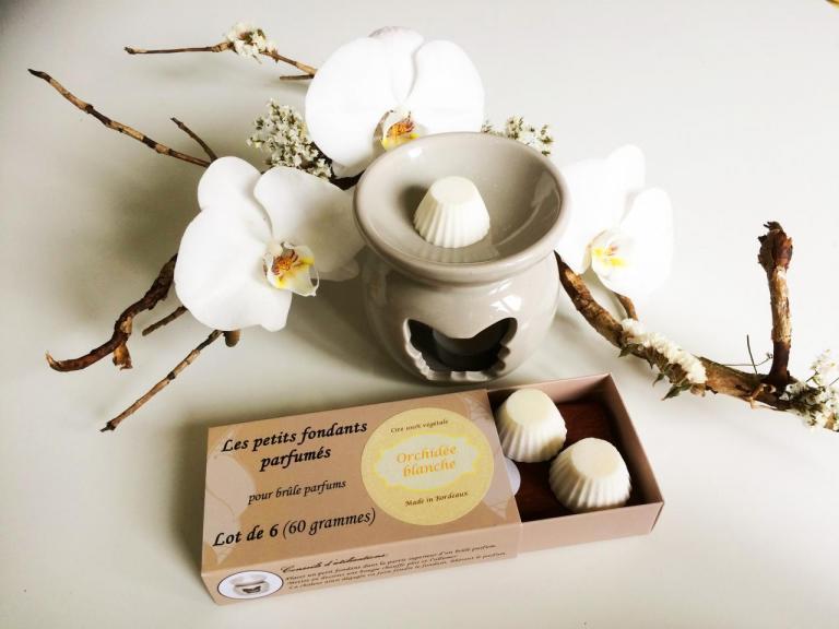 Fondants parfumés Orchidée blanche